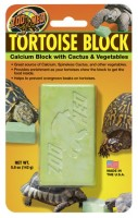 Zoo Med Tortoise Block with Opuntia Cactus & Vegetables